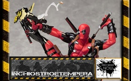 Preorders: GSC – Marvel Comics Deadpool Breaking The Fourth Wall PVC Statue