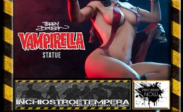 Preorder: Sideshow Collectibles – Vampirella 1/5 Statue by Terry Dodson