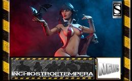 Statue News: Sideshow – The Vampirella Statue by TerryDodson