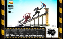 Preorder: Iron Studios – Marvel Comics 1/10 Spiderman Battle Diorama Series