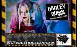 Preorder: Sideshow Collectibles – Margot Robbie as Harley Quinn Premium Format™ Figure