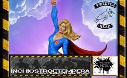 Preorder: Tweeterhead – DC Comic MaquetteSupergirl