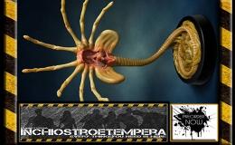 Preorder: HCG – Aliens Replica 1/1Facehugger