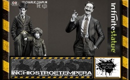 Preorder: Infinite Statue – Groucho Marx + Charlie Chaplin: The Kid 1/6 scale Statues