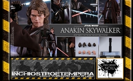 Preorder: Hot Toys – Anakin Skywalker 12″ Figure Episode III: Revenge of the Sith – Movie Masterpiece Series