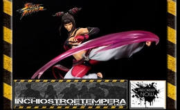 Preorder: Street Fighter IV Femmes Fatales Diorama 1/6 Juri Han By Kinetiquettes