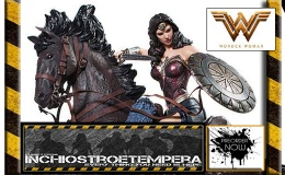 Preorder: Iron Studios – Wonder Woman on Horse + Arkham Knight Deathstroke & Robin 1/10 Statues