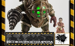 Preorder: 3A Toys – BioShock Action Figure 2-Pack 1/6 Big Daddy & Little Sister