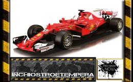 Preorder: BBurago – 1/18 Ferrari F1 Sebastian Vettel 2017 Nr.5