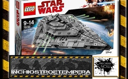 Preorder: LEGO® Star Wars Episode VIII: Kylo Ren's TIE Fighter, Star Destroyer, Heavy Assault Walker, BB-8