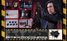 Preorder: Hot Toys – Kylo Ren 12″ Figure Star Wars: The Last Jedi – Movie Masterpiece Series