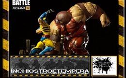 Preorder: Iron Studios – Wolverine vs Juggernaut 1/6Diorama
