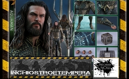 Preorder: Hot Toys – JLA: Aquaman 12″ Figure Movie Masterpiece Series