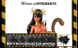Preorder: Women of Dynamite Statue Dejah Thoris by J. Scott Campbell
