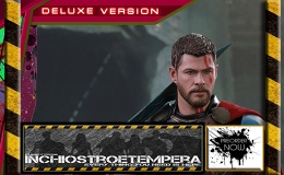 Preorder: Hot Toys – Gladiator Thor Deluxe Version 12″ Figure Thor: Ragnarok – Movie Masterpiece Series