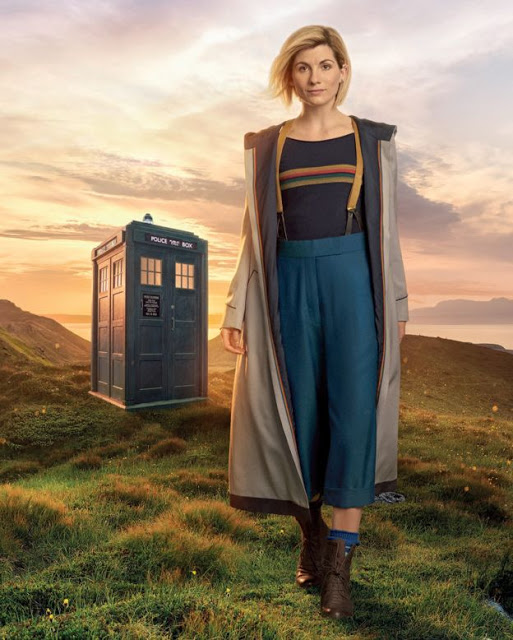 Jodie Whittaker as The Doctor in Doctor Who Season 11