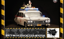 Preorder: Blitzway – Ghostbusters 1/6 ECTO-1 1959Cadillac