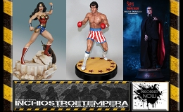 Preorder: Wonder Woman 1/6 Maquette, Scars of Dracula & Rocky 1/4 Statues, Michael Myers 1/12 AF