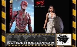 Preorder: Hot Toys – The Flash + 300 1/6 Lena Headey as Queen Gorgo 12″ Figures