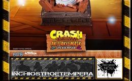 Preorder: F4F – Crash Bandicoot Life-Size Aku AkuMask