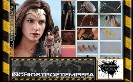 Preorder: Hot Toys – Gal Gadot as Wonder Woman 12″ Figure Justice League – Movie Masterpiece Series