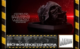 News: Hot Toys – Star Wars: The Force Awakens Burned Darth Vader Mask Replica