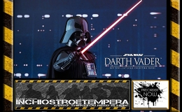 Preorder: Hot Toys – Darth Vader 12″ Figure  Episode V: The Empire Strikes Back – Movie Masterpiece Series