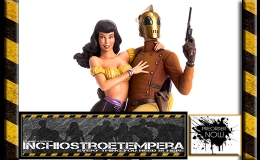 Preorder: Mondo Toys – Rocketeer and Betty Statue