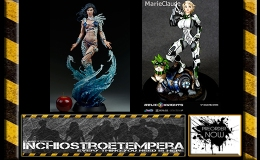 Preorder: Sideshow – Aspen PF + Silver Fox – Relic Knights Marie Claude Statues