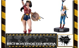 Preorder: DC Collectibles – Batman by Becky Cloonan, Wonder Woman Bombshell, Supergirl Garage Statues