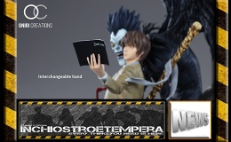 Statue News: Oniri creations – Death Note LIGHT & RYUK 1/6TH SCALEDIORAMA