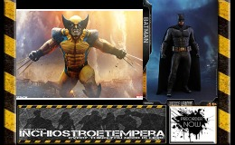 Preorder: Sideshow – Wolverine PF + Hot Toys – Batman 12″ Figure Justice League