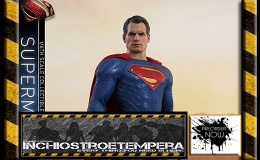 Preorder: Hot Toys – Superman Sixth Scale Figure Justice League – Movie Masterpiece Series