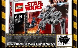 Preorder: LEGO® Star Wars™ Episode VIII: First Order AT-ST +Sandspeeder