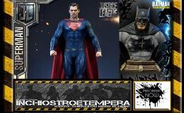 Preorder: P1 Studio + Batman The Dark Knight Returns Premium Bust + Justice LeagueSuperman