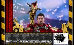 Preorder: Hot Toys – Iron Man 2 Mark IV + Devil May Cry IV: Dante 12″ Figures