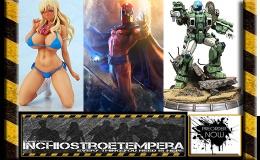 Preorder: Sideshow – Magneto Maquette + Robotech – 1/4 Armor Cyclone VR052F ScottBernard
