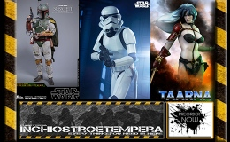 Preorder: Sideshow Heavy Metal Taarna & Stormtrooper PF + Hot Toys Boba Fett 12″Figure