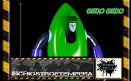 Preorder: High Dream – Ufo Robot Grendizer: Gedo Gedo + Gundam Model Kit1/100