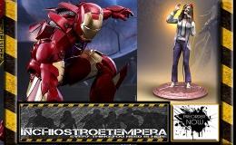 Preorder: Rock Iconz, Hot Toys Iron Man, Mezco Evil Dead, Kotobukiya Superman & Power Girl +Others