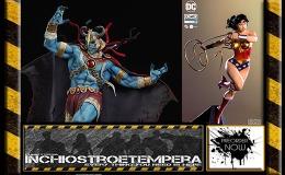 Preorder: Iron Studios – Wonder Woman + Sideshow – Thundercats: Mumm-Ra & YodaLSF