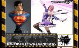 Preorder: Prime 1 Studio – Tekken 7: Alisa Bosconovitch + Classic Superman LifesizeBust