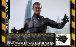 Preorder: Hot Toys – Black Panther 12″ Figure  Black Panther – Movie Masterpiece Series
