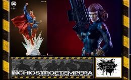 Preorder: Sideshow – Black Widow, Boba Fett, Batman + Iron Studios –Superman