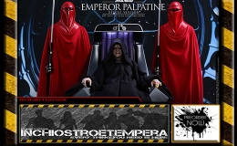 Preorder: Hot Toys – Star WArs Emperor Palpatine & Royal Guard 12″ Figures