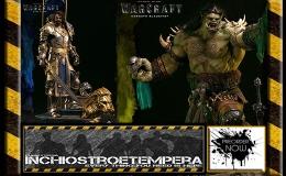 Preorder: Warcraft Epic Series Premium Statues – King Llane + KargathBladefist