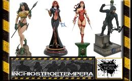 Preorder: Diamond Select – Elektra, Rogue, Dawn, Arrow, Snowman JackFigures