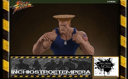 Preorder: PCS – Guile Street Fighter Mixed Media 1/4 Statues