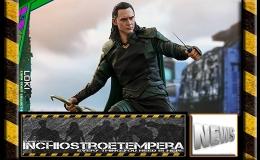 12″ AF News: Hot Toys – Thor: Ragnarok Loki 1/6 ScaleFigure