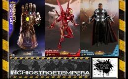 Preorder: Hot Toys – Infinity War Iron Man & Thor 12″ Figure + Infinity Gauntlet PropReplica